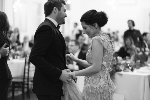 Husband and Wife Dancing together. Amazing Wedding at Abbotsford Convent, Melbourne, Vic. By Erika's Way Photography