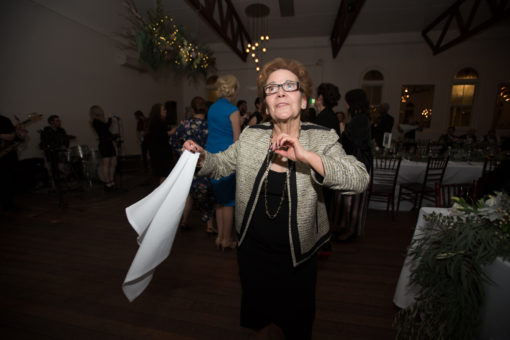 Lady dancing at the Wedding