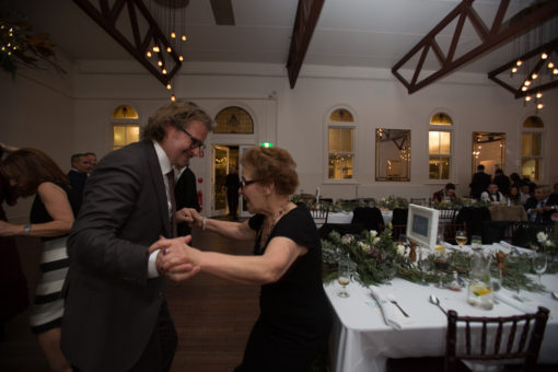 No one is ever too old to dance at a Wedding