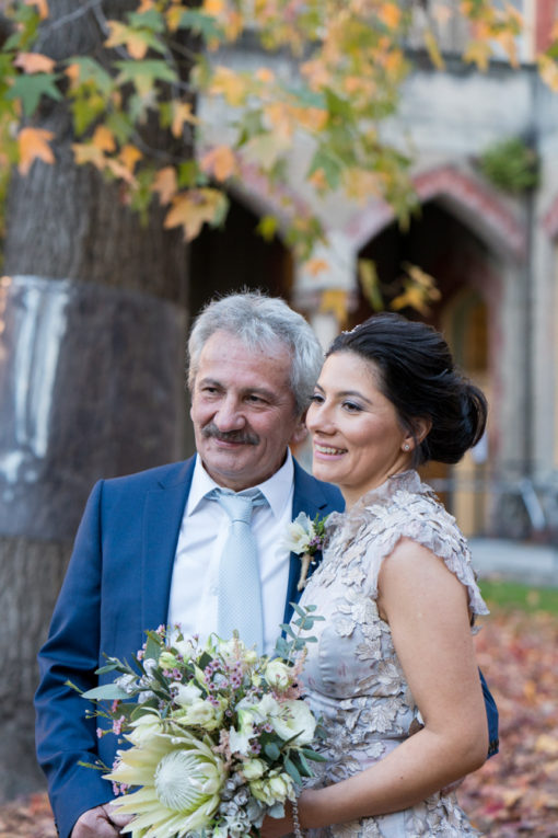 Happy Bride and Proud Father