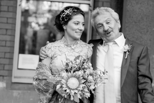 Bride and her Father. Photo by Erika's Way Photography