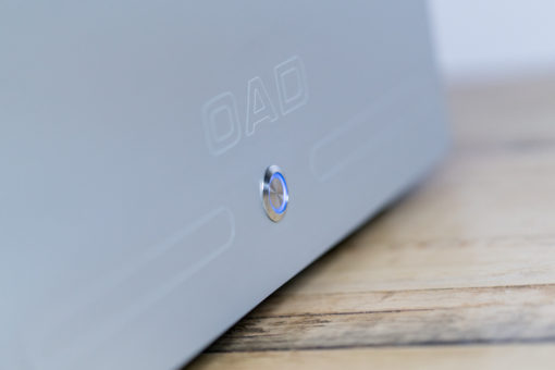 detail of the push button LED for OAD, audio system