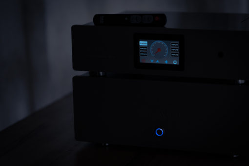 Open Audio Designs. high definition audio amplifier with ambient moody light