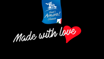 'Made with love' by That's Amore cheese. Animation by: Erika's Way Photography and Design