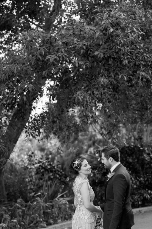 Bride and Groom at Abbotsford Convent, Melbourne