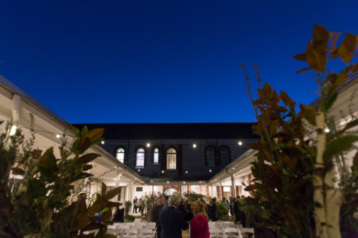 Wedding Ceremony during the Blue hour