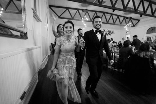 Husband and Wife leading the dances