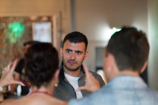 Receiving the Guests at Cider House, Brunswick street, Fitzroy, Melbourne. Photo by Erika's Way Photography