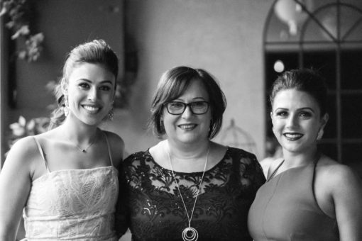 Mother and daughters. Photo by Erika's Way Photography