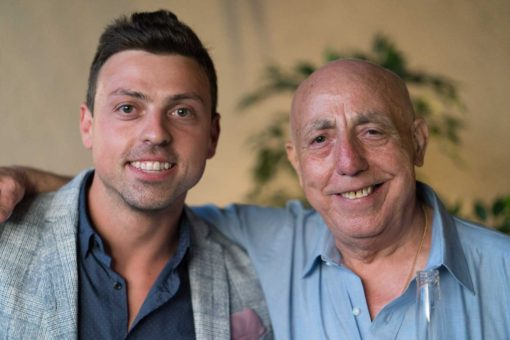 Groom and uncle: incredible resemblance in features. Photo by Erika's Way Photography