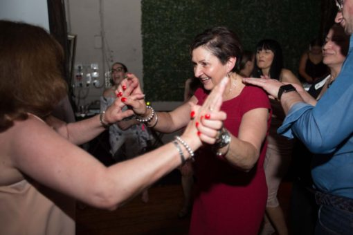 Dancing at the engagement Party. Photo by Erika's Way Photography