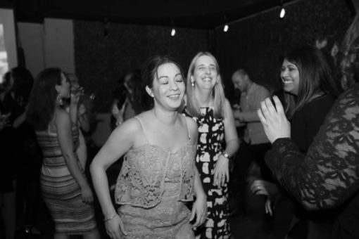 Dancing at the Engagement Party in Fitzroy, Melbourne. Photo by Erika's Way Photography
