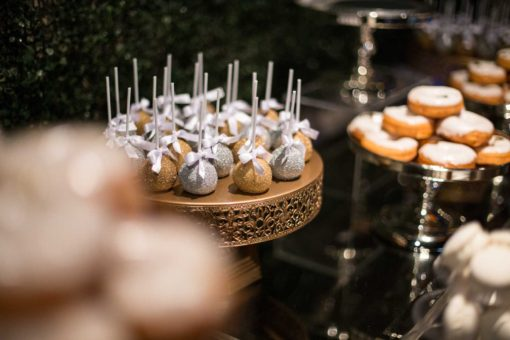 Engagement Party's cupcakes and candies. Photo by Erika's Way Photography
