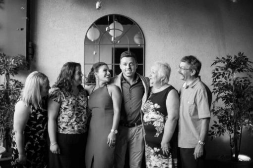 Family portraits and smiles. Photo by Erika's Way Photography